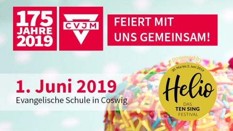 Wir feiern gemeinsam 175 Jahre CVJM bei Helio!