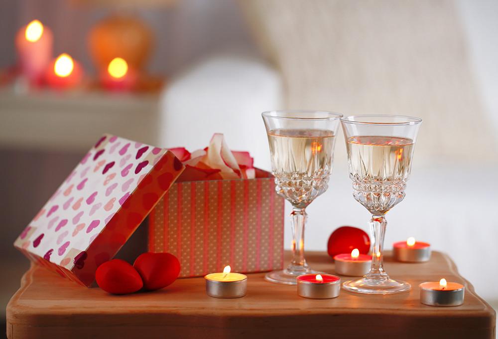 Valentinsabend - Zeit zu Zweit - gemütlich Zuhause