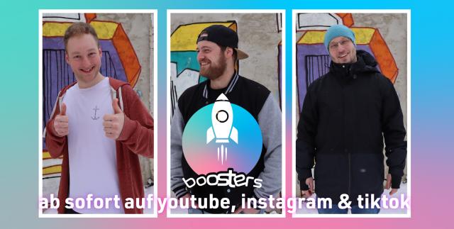 Die Boosters - CVJM Zwickau und Mathias Andrae starten ein neues missionarisches Projekt auf Instagram und YouTube