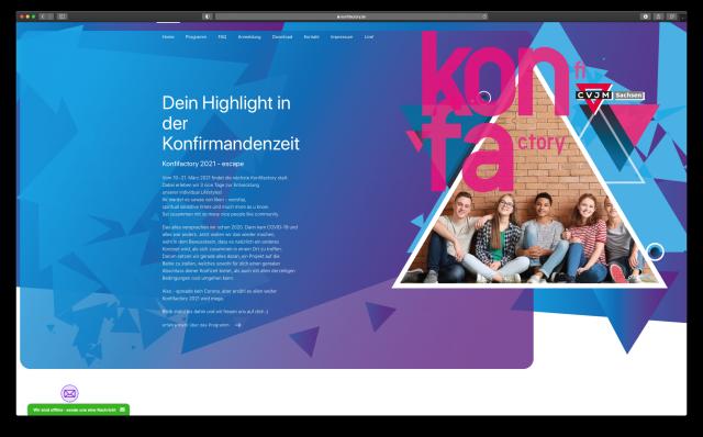 Die Besteigung eines digitalen 4000er - Die Konfifactory 2021