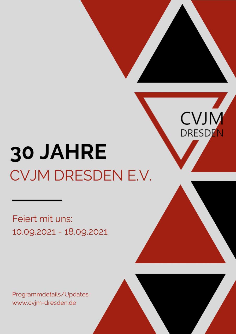 CVJM Dresden wird 30